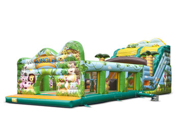 Jungle world slide XL